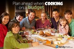 Ideas on cooking for a large family on a budget
