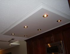 kitchen lighting ceiling box - Google Search