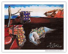 Salvador Dalek (from Tone Cartoons)