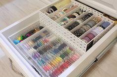 Scraproom: Washi Tape and Stitchery Storage
