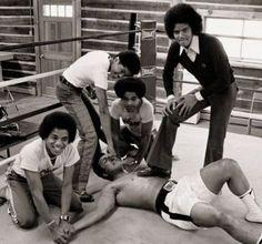 Muhammad Ali & The Jackson 5 http://muhammadalipage.com/muhammad-ali-vs-rocky-marciano/