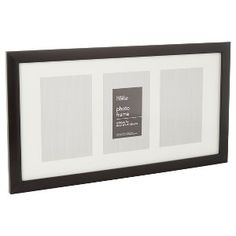 ASDA £4 Unsure of size Buy George Home Multi Aperture Black Picture Frame from our Frames & Albums range today from George at ASDA.