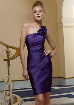 Mori Lee Angelina Faccenda 20370 Floral, one shoulder Silky Taffeta dress. #timelesstreasure