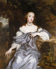 Frances Brooke, Lady Whitmore (d. 1690) ~ one of the Windsor Beauties