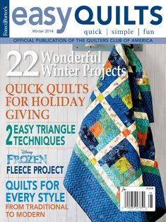 Easy Quilts Winter 2014 Digital Issue by New Track Media
