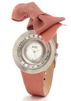 Badgley Mischka ribbon watch