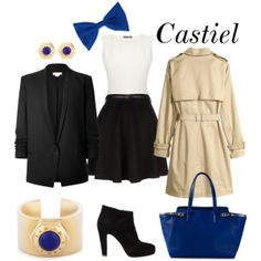 Fandom Clothes #1 : Castiel (Supernatural) by xmishake