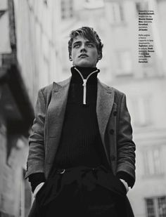Billy Vandendooren is Parisian Chic for Style Shoot