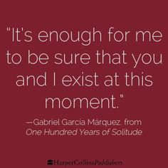 'one hundred years of solitude' by  gabriel garcia marquez my favorite read of all time!