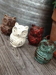 Owl Drawer Pull, Farmhouse Style, Owls, Handles, Cabinet Pull, Supplies, Red Knob, Blue Drawer Pull, Creamy White Handle on Etsy, $6.75
