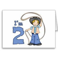 Cowboy Roper 2nd Fill-in Invitations Stationery Note Card and birthday set, shirts, buttons, stickers, stamps.