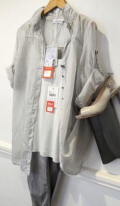 Elisa Cavaletti Blouse £169.95/£95.95 Inwear Cami £24.95/17.95 Jonny Q Cutoffs £109.95/69.95 http://www.exivboutique.co.uk/item/3196/se30710