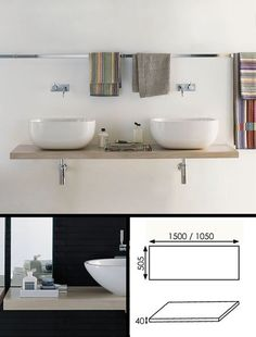 Double counter top basin designer washstand in Italian contemporary styling and luxury European quality. Wenge Wood, Contemporary Bathroom Designs, Bathroom Wall, Bathroom Ideas, Chic Bathrooms, Double Vanity, Countertops, Chrome, Interior Design