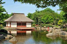 Japanischer Garten & Teehaus - Planten un Blomen