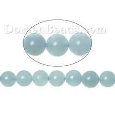 Worldwide Free Shipping (Grade A+) Aquamarine ( Natural) Loose Beads Round Lightblue About 6.0mm( 2/8) Dia, Hole: Approx 0.8mm, 40.0cm(15 6/8) long, 1 Strand (Approx 73 PCs/Strand) [Q01049] at incredible low price– DoreenBeads.com