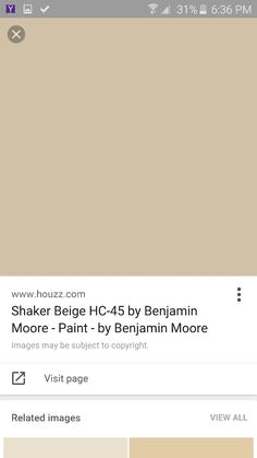 Shaker beige