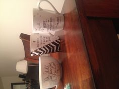 Sharpie mugs! I am sure Pank will love this quotes!