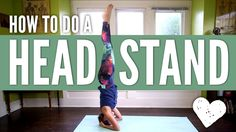 Head Stand Yoga Pose - How To Do a Headstand for Beginners Yay! Easy steps, nice and slow to get to a headstand.