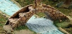 Amazon.com: 5 Inch Scale Fontanini Bridge 54312: Home & Kitchen (I would also use this in a fairy garden; Ng).