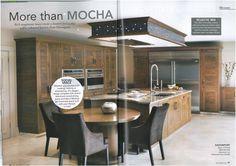 Davonport's stylish Grosvenor kitchen as featured in Period Idea's 100 Beautiful Kitchens magazine.