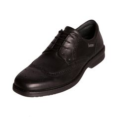 Pikolinos 04M 6027 Mens Gents Leather Black Brouge Shoe - £65.99 - Top quality Pikolinos footwear from Barnets Shoes