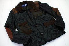 black quilt