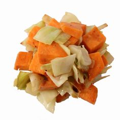 Sweet Potato, Cabbage and Onion Mix this looks easy and inexpensive