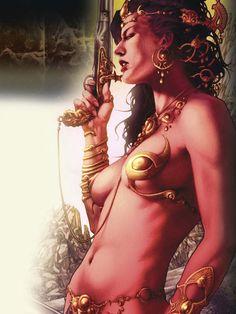 Dejah Thoris by Jay Anacleto