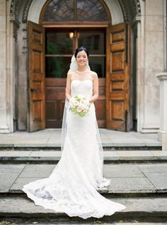 Church Dress nicholau-nicholas-lau-interracial-wedding-korean-bride-in-front-of-church-doors-. nicholau-nicholas-lau-interracial-wedding-korean-bride-in-front-of-church-doors-bouquet-veil-mermaid-gown-dress Korean Bride, Interracial Wedding, Church Dresses, Mermaid Gown, Gown Dress, Wedding Photography Inspiration, Lady, Destination Wedding, Bouquet