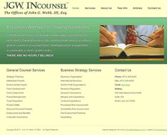 Redesigned website for New Jersey attorney. Project details at: http://sbmwebsitedesign.com/jersey-attorney
