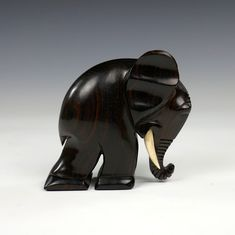 San Karner, a wood elephant