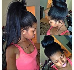 Perfect versatile sew in. High pony