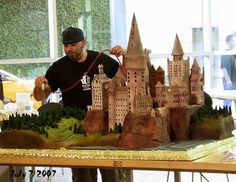 Ace Of Cakes - Hogwarts Harry Potter Cake!!