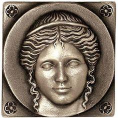 Ahhh, the beautiful Greek Goddess bronze tile.