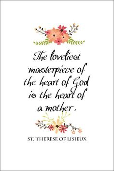 St. Therese Quote Free Printable