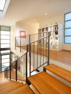 Contemporary Wrought Iron Balusters Design, Pictures, Remodel, Decor and Ideas - page 13