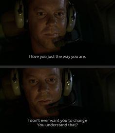 Jack Bauer; Season 2 talking to Kim Bauer