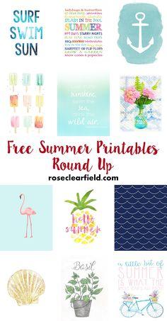 Free Summer Printabl