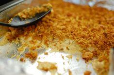 """""""KFC chicken"""" casserole: make with rotisserie chicken meat or shredded chicken breasts - tastes like KFC!"""