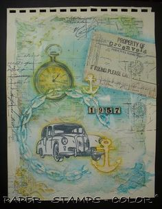 Art Journal Artofthe5th week24 Travel journaling Recording Memories week (18)