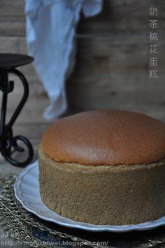 爱厨房的幸福之味: 奶茶棉花蛋糕 Milk Tea Cotton Cake