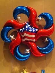 arches with designer mylar balloons - Google Search
