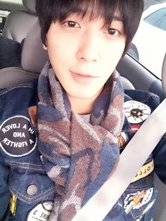 Yong Hwa's selfie!