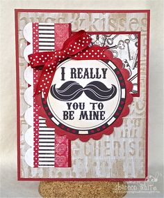 Enchanted Ladybug Creations: I Really 'MUSTACHE' You To Be Mine - Whimsie Doodles
