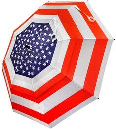 Hot Z Adult Hot-Z USA Flag Golf Umbrella #golfumbrella