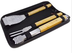 VW BBQ Tools are bound to make dad smile this Fathers Day. On sale now for $49.95 at Rapt.