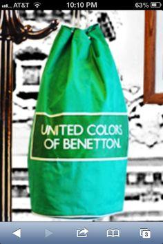 Benetton bags.