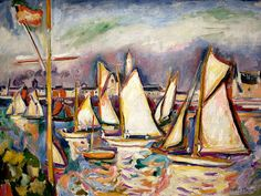 Othon Friesz, The Regatta at Antwerp, 1906