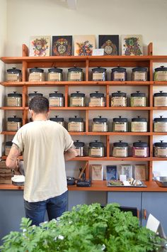 Homestead Apothecary in Temescal Alley, Oakland // via Spotted SF