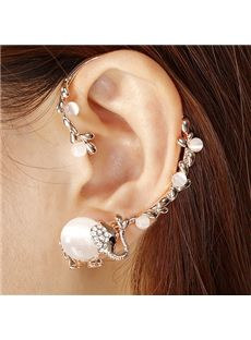 Fashion Cute Opal Little Elephant Ear Cuff from EricDresses on less price. Use coupon and promotional codes.